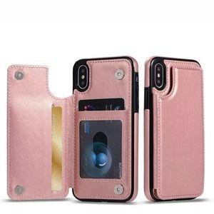 Apple iPhone XS Max X 8 7 6S Plus Wallet Case